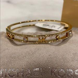 Michael Kors In Full Bloom Gold Bracelet
